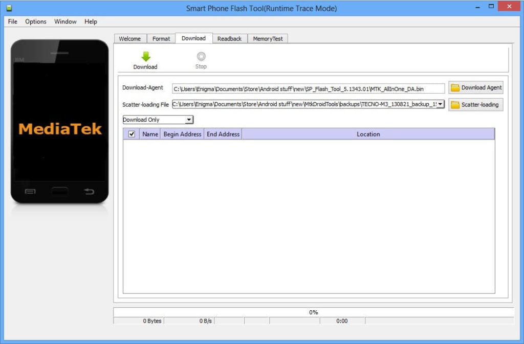 How To Unbrick Mediatek Devices Using SP Flash Tool