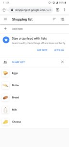 How To Customize your Shopping List In Google Assistant