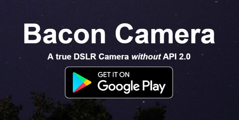 Best Android Apps for Mobile Photographers - Bacon App
