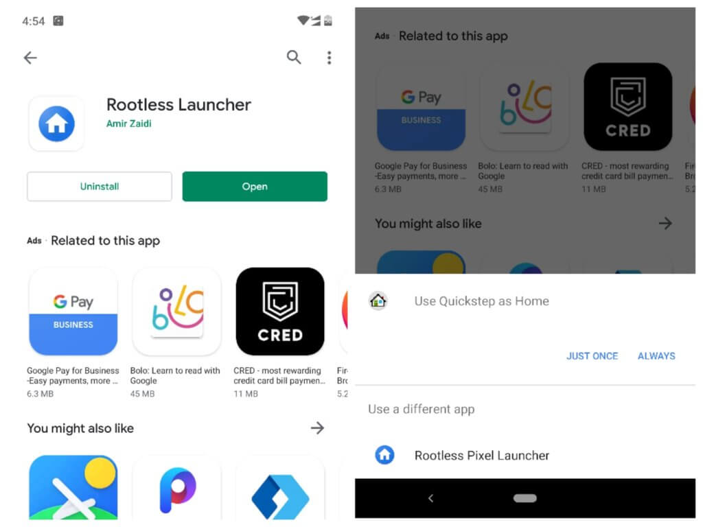Download Rootless Pixel Launcher with Google Now for Android Devices