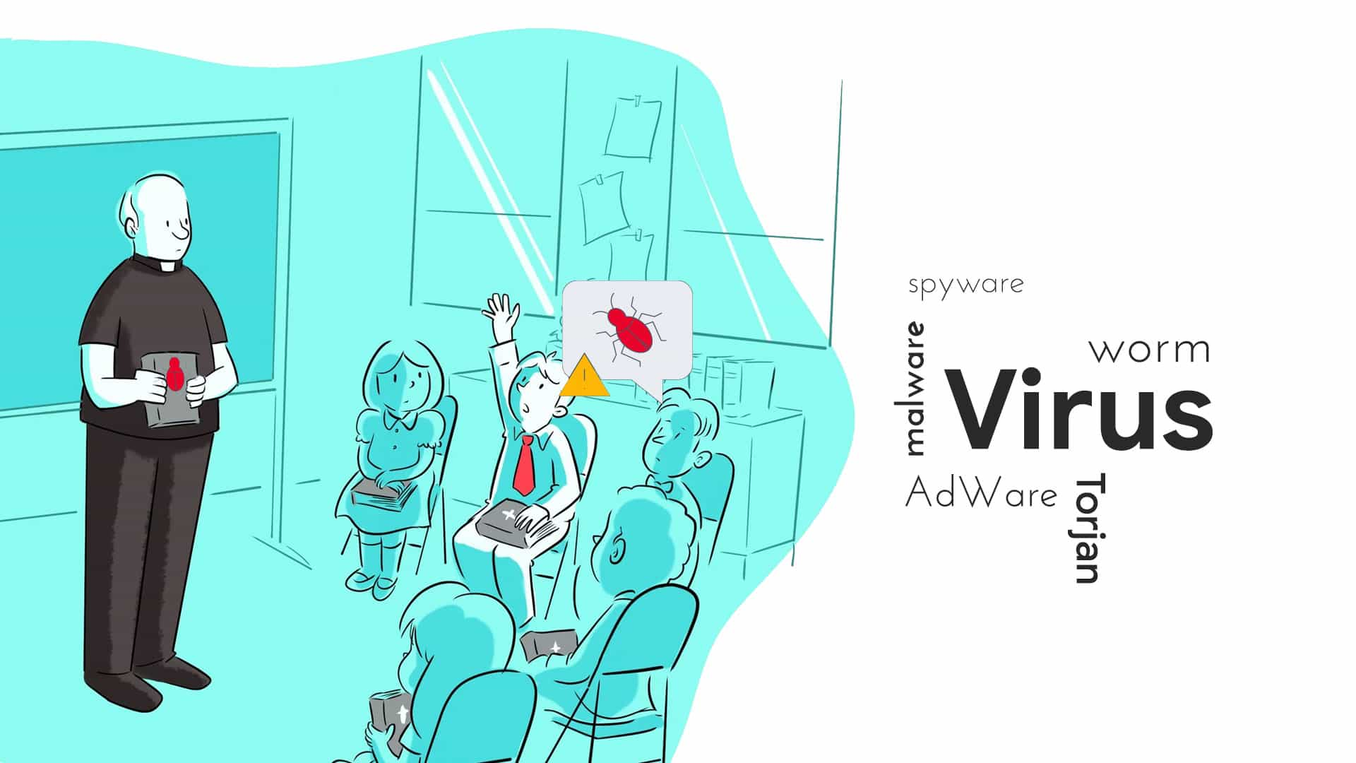 Difference between virus worm malware spyware adware