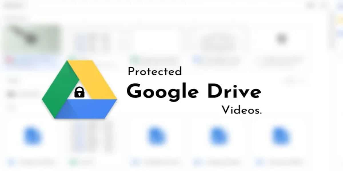 How to download protected google drive videos