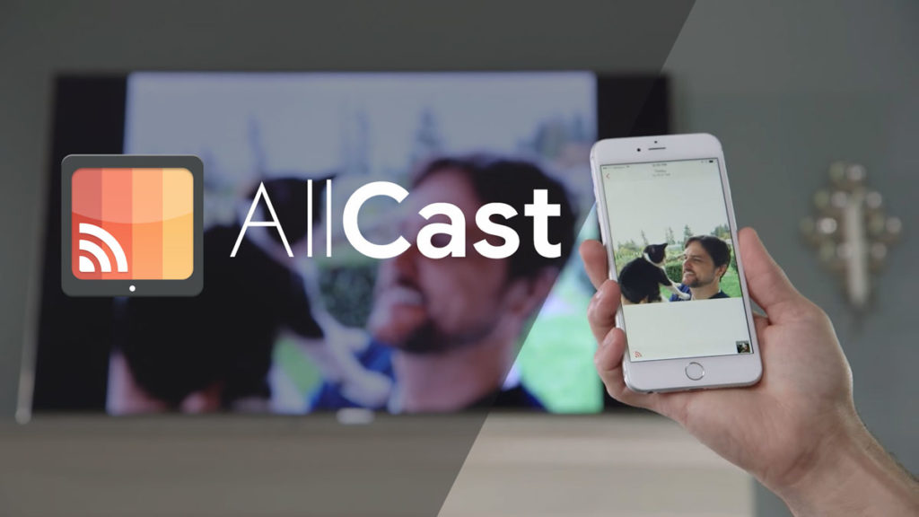 Cast iPhone to TV using AllCast