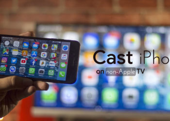 How to Cast iPhone on Non Apple TV wirelessly
