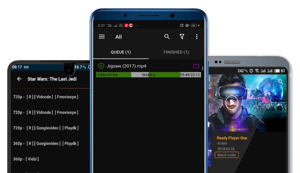 How to download Movies in TeaTV Android App in high Quality