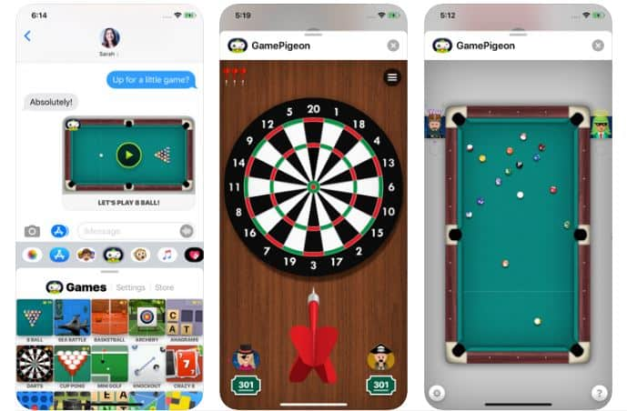 how to play game pigeon on imessage