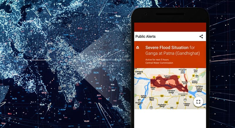 iOT to predict flood and avoid loss in businesses