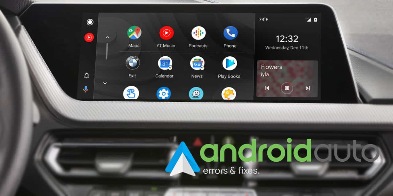 Fix Android Auto Not working Error