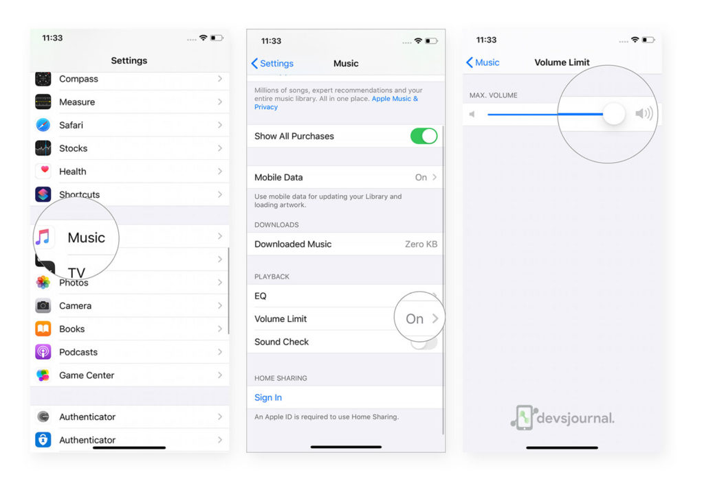 How to remove or increase Music Volume Limit in iPhone