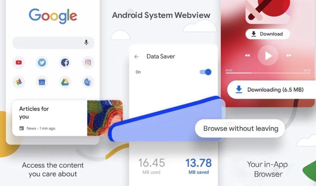 What is Android System Webview App