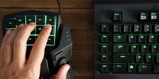 best gaming keypad analog stick