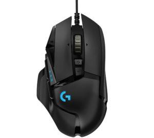 logitech g502 hero best FPS gaming mouse
