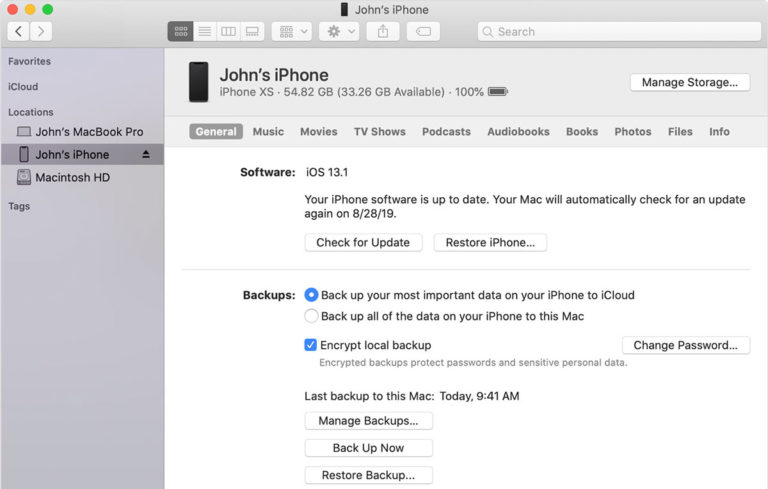 How To Fix  iTunes could not backup the iPhone because the iPhone disconnected