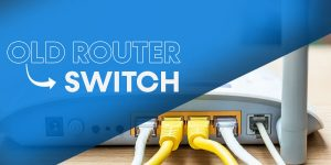 How to use Old Router as a Switch