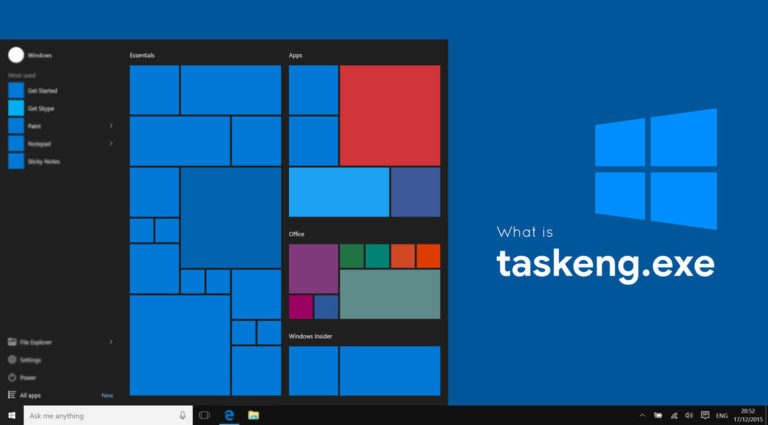 What is taskeng.exe? Fix: taskeng.exe keeps popping up