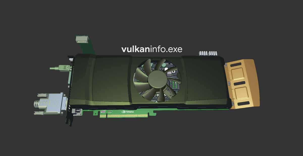 What is vulkaninfo.exe file in Windows