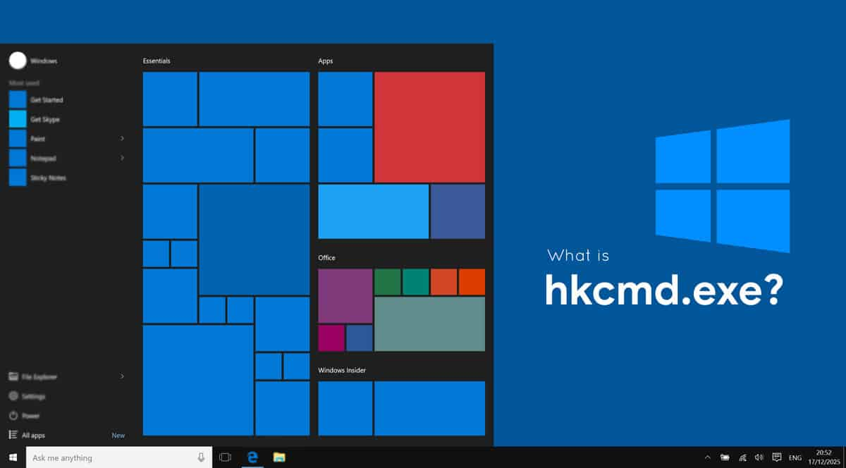 What Is Hkcmd.exe in Windows