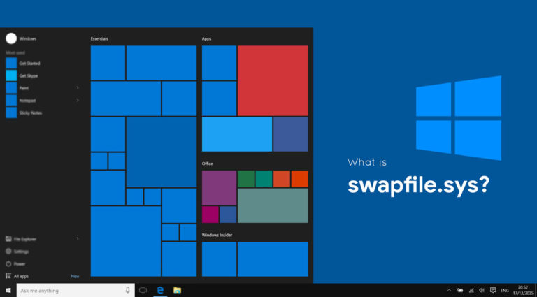What Is Swapfile.sys? Can I delete Swapfile.sys?