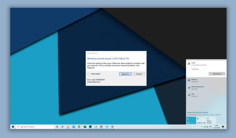 How To Fix Windows Error 0x80004005