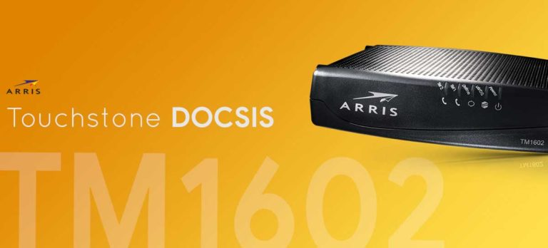 Arris TM1602 Modem Review
