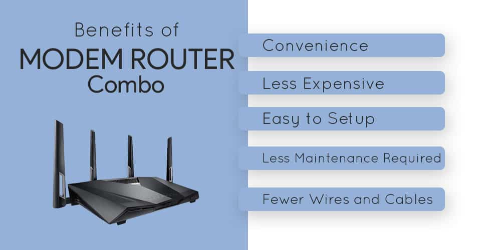 Benefits of Modem Router Combo