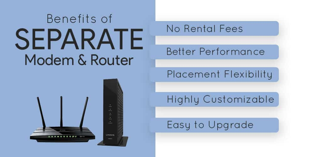 Benefits of Separate Modem and Router