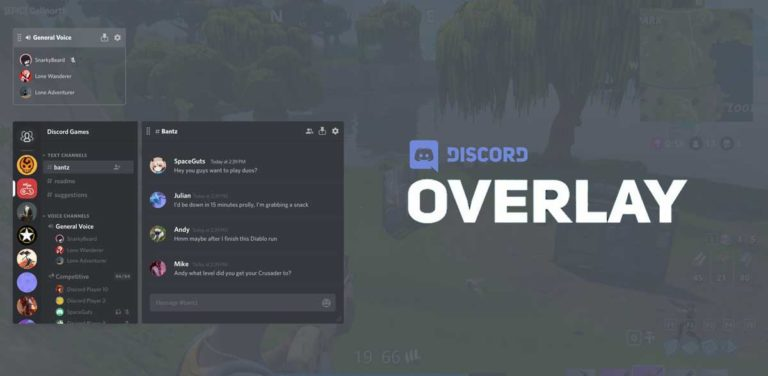 How to Fix Discord Overlay not Working Error