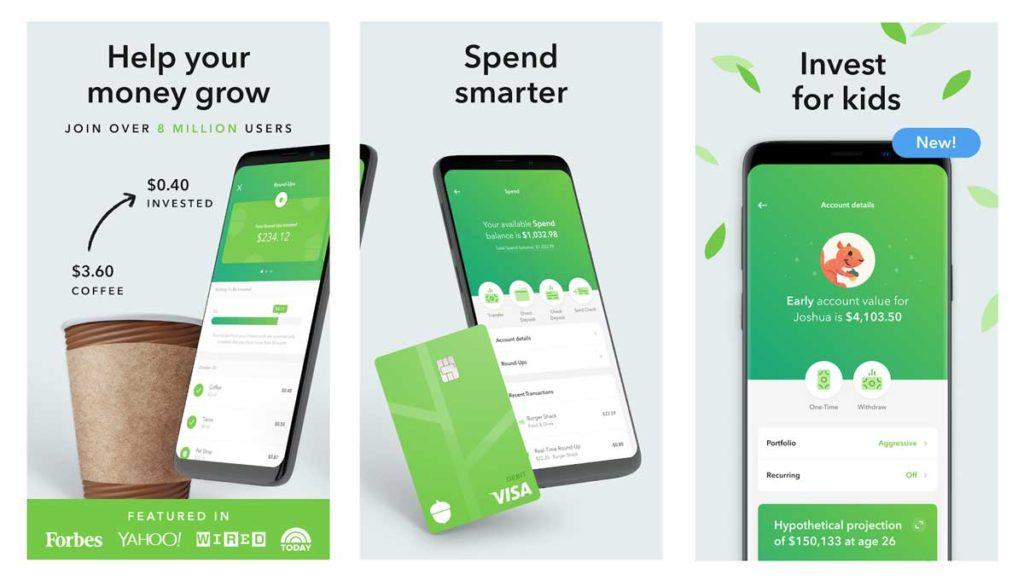 Acorns Best Investment App