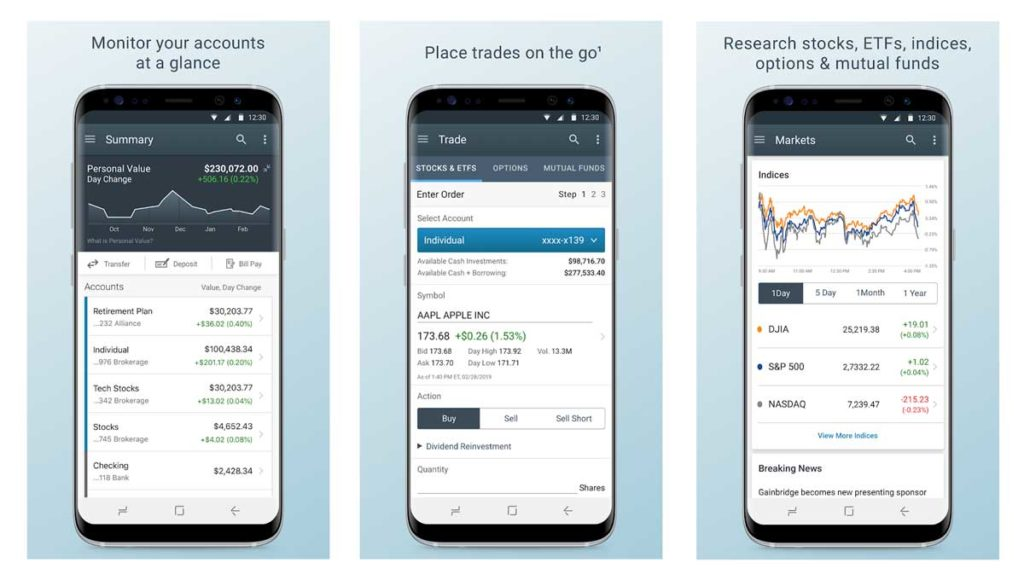 Charles Schwab Best Investment App