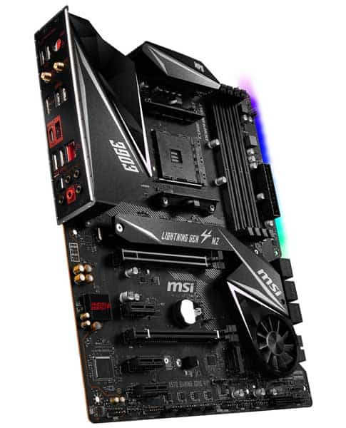 MSI MPG X570 GAMING EDGE WIFI Motherboard for Ryzen 9 3900x