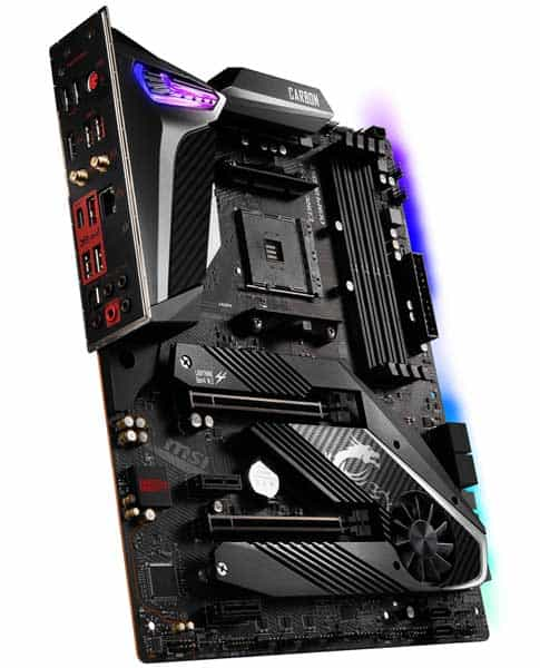 MSI MPG X570 GAMING PRO CARBON WIFI Motherboard for 3900x