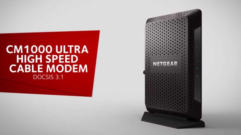 Netgear CM1000 Cable Modem Review | Buyers Guide