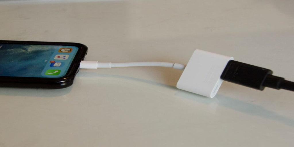 How to Mirror iPhone to TV using AV Adaptor