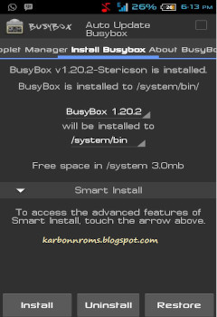 Install Busy Box and Init.d Support