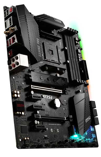 MSI B450 GAMING PRO CARBON AC Motherboard for Ryzen 7 2700x