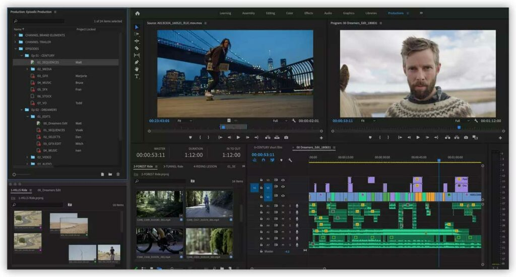 Best Video Editing Software User Interface