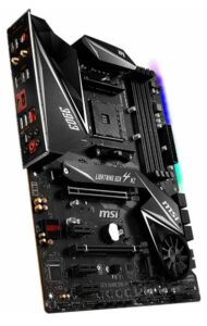 MSI MPG Gaming Edge WiFi x570 motherboard