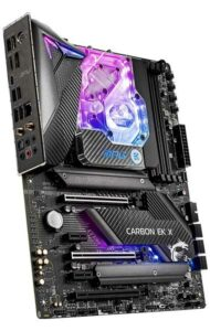 MSI MPG Z490 Carbon EK X RGB Motherboard