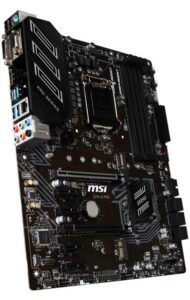 MSI Z390A PRO Motherboard for i5 9600k