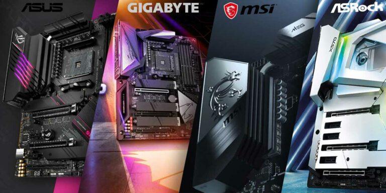 ASUS vs Gigabyte vs MSI vs ASRock – Best Motherboard Brands
