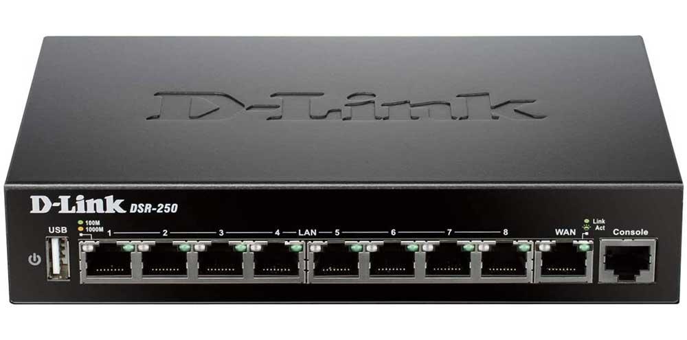 D-Link VPN Router (DSR-250)