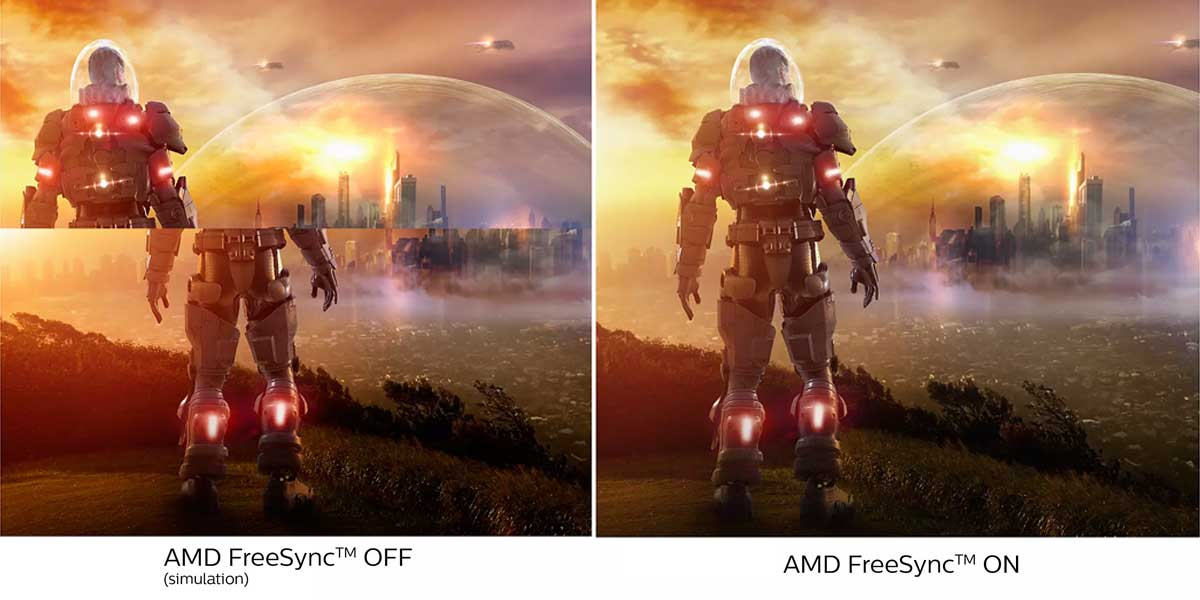 AMD FreeSync on Philips 242E1GSJ Gaming Monitor