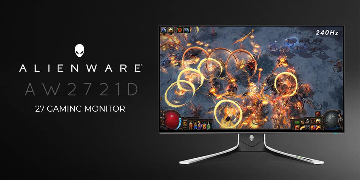 Alienware 27 Gaming Monitor AW2721D Review