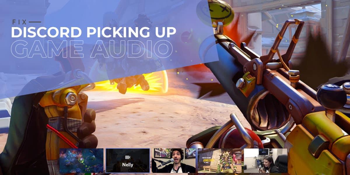 Discord Picking Up Game Audio