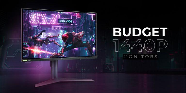 Top 7 Best Budget 1440P Monitors