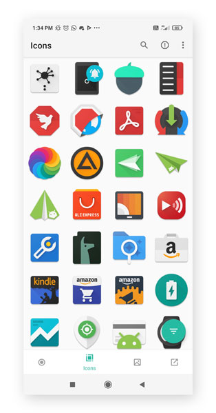 Use App-Icon Packs To Change App Icons On Android