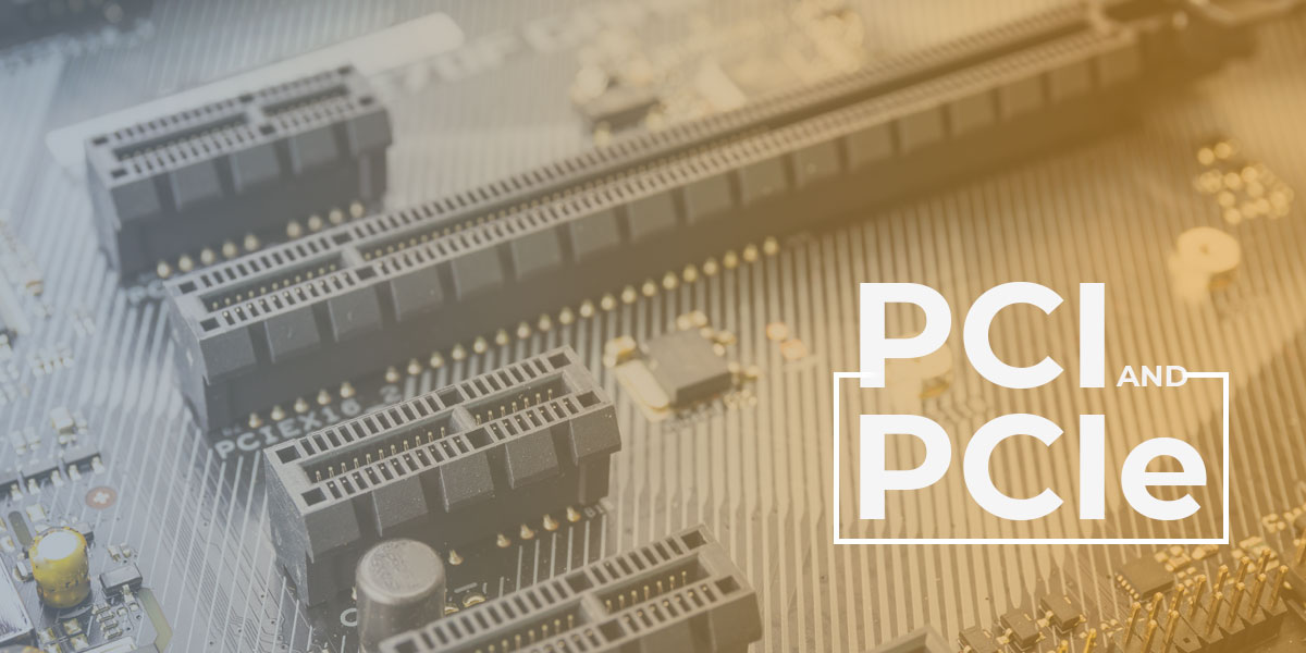 What is PCI and PCIe