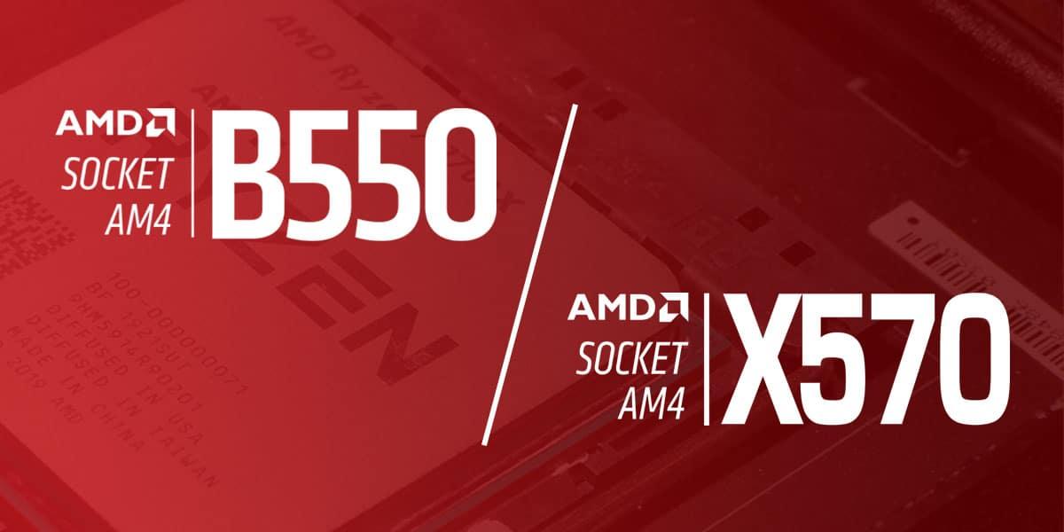B550 vs X570
