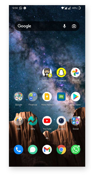 How to Add Snapchat Shortcut on Homescreen