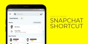 How to Make a Shortcut on Snapchat